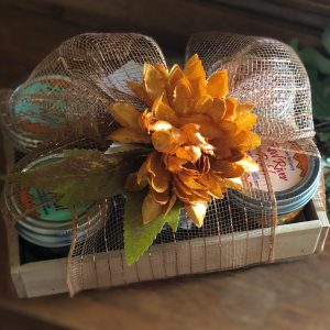 Red River Relish Over Cream Cheese Gift Crate - Thanksgiving/Autumn